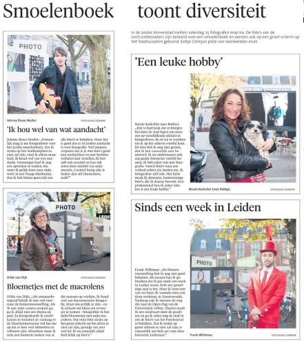 Leidsch Dagblad, maandag 10 november 2014